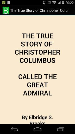The True Story of Columbus