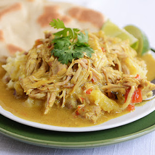 Slow Cooker Coconut Curry Pork.