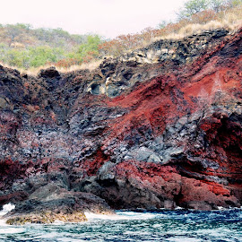 Lava Layers by Beth Bowman - Nature Up Close Rock & Stone (  )