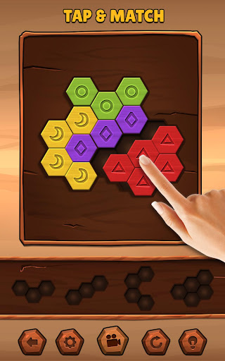 PC u7528 Hexa Wood Puzzle 1