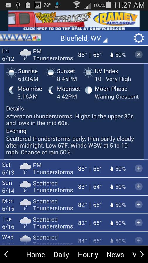 WVVA Weather - screenshot
