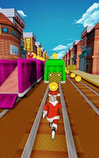Santa Claus Endless Runner: City Subway Racing Fun - náhled