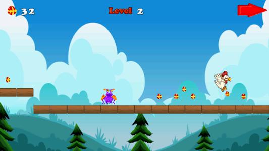 Angry chicken-Super run screenshot 4