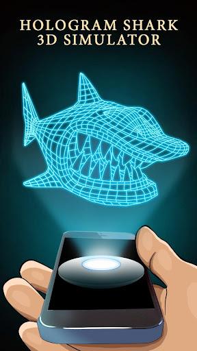 全息3D鯊魚模擬器