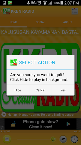 android KKBN RADIO Screenshot 4