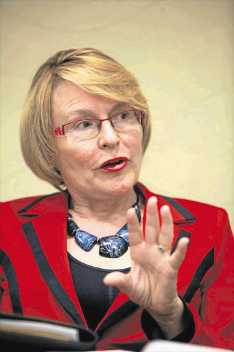 ONE DAY: DA leader Helen Zille wants party funding to be transparent - but not yet