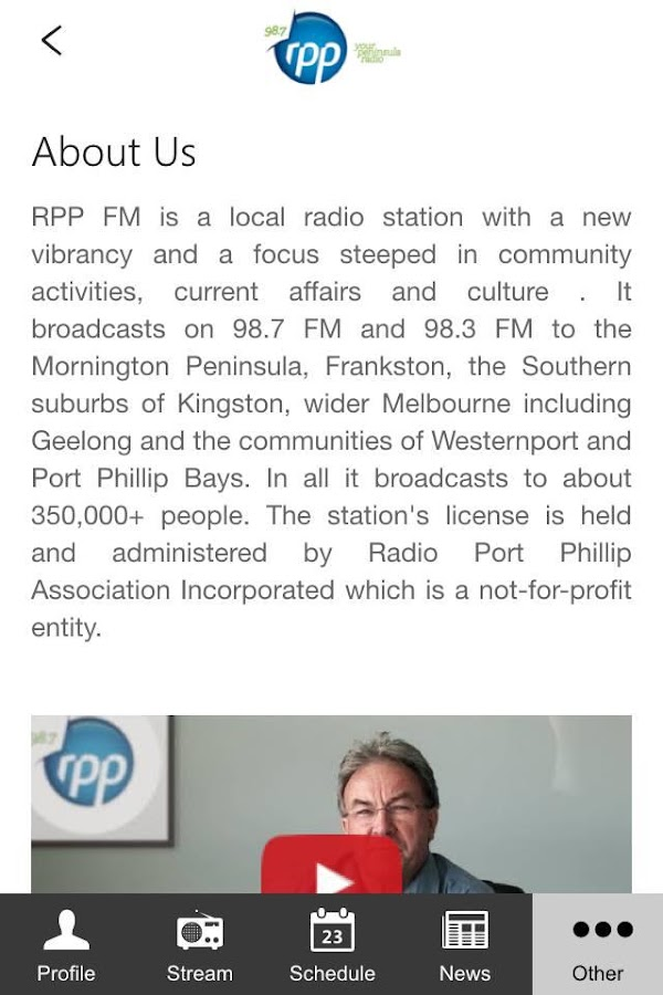 RPP fm- screenshot