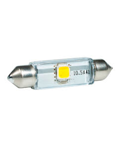 LED-lampa 12V 10.5x43 1watt