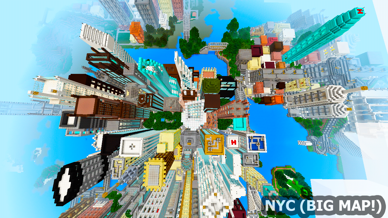 New York City BIG Map For MCPE Android Apps On Google Play - Nyc map minecraft