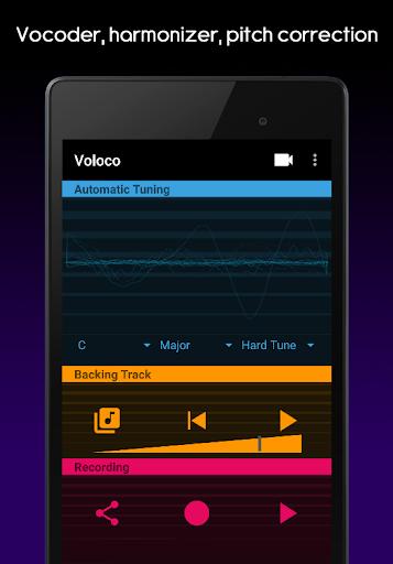 Voloco: Auto Tune + Harmony screenshot 9