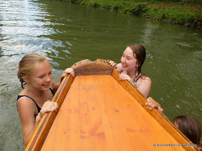 Photo: Spaß für die ganze Familie ... im Sommer auch gerne direkt im Neckar.
