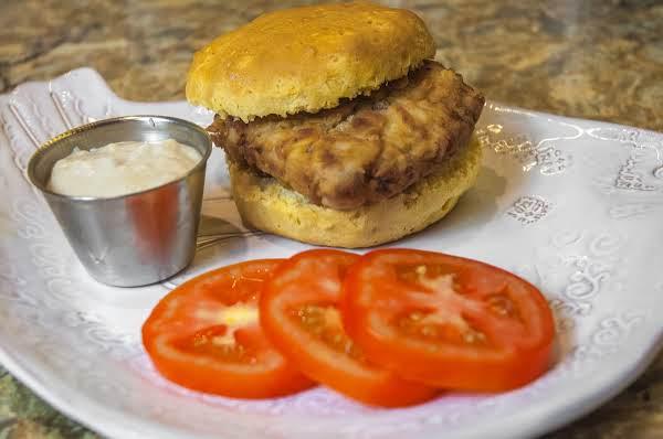 Breakfast Essentials: Chicken Fried Steak Biscuit Recipe