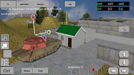 3DMap. Constructor screenshots 1