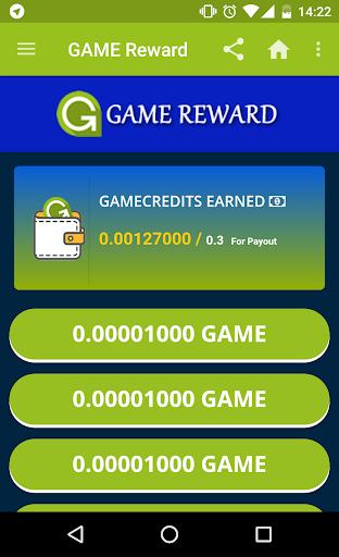 G-Reward - Earn free GameCredits screenshot 1