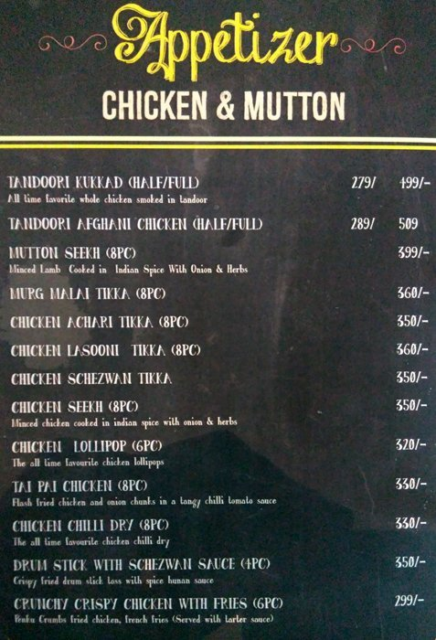 Hoppin RestoBar menu 6