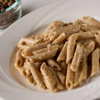Pasta in Pistachio Sauce.