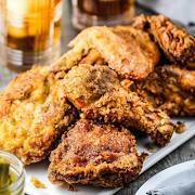 Southern Fried Chicken w/cornbread