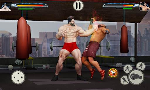 Virtual Gym Fighting: Real BodyBuilders Fight 1.1.4 screenshots 2