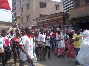Photo: Eyo Akogu Olofin of Lagos on Parade in Obalende area of Lagos