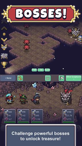 Code Triche Cave Heroes: Idle RPG APK MOD screenshots 5