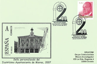 Photo: Matasellos del Bicentenario del Concejo de Mieres 2012