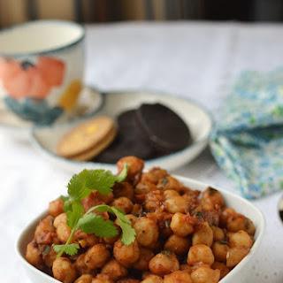 Manipur -- Kelli Chana (Spicy Chickpea snack)
