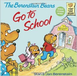 "Getting Kids Excited for Kindergarten with ""The Berenstain Bears Go to School"" Book"