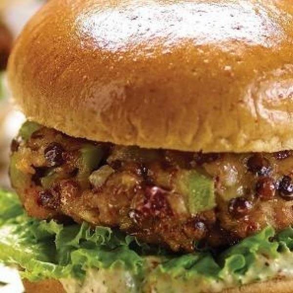 Cajun Veggie Burgers Recipe
