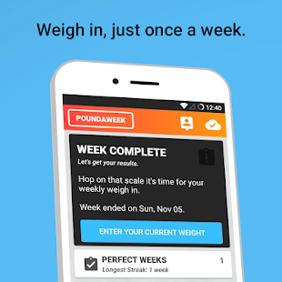Guided Diet Plan and Calorie Counter by Poundaweek Screenshot