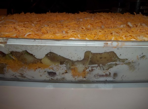 Repeat all of the layers. As you notice, this is a  very full...