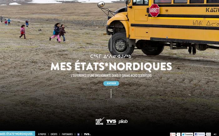 Photo: Site of the Day 12 December 2012 http://www.awwwards.com/web-design-awards/mes-etats-nordiques