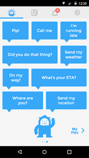 Pip – Messaging made easy