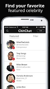 ChitChat Messenger - náhled