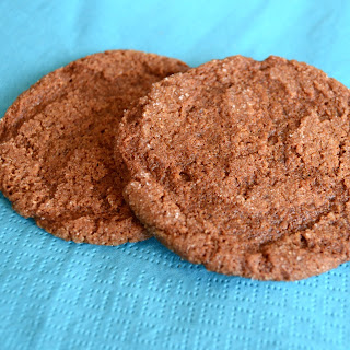 Old-fashioned Molasses Cookies.