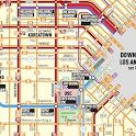 Los Angeles Transport Map icon