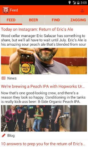 Beer Mode from New Belgium