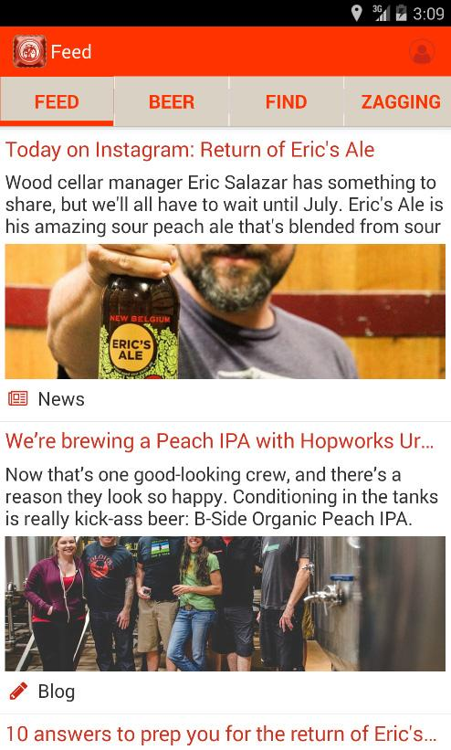 Beer Mode from New Belgium- screenshot