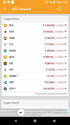 BTC Reward - Earn free Bitcoin screenshot 6