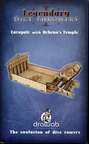 Catapult Dice Thrower & Athenas Temple Dice Tray