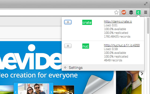 CRATE Chrome Extension