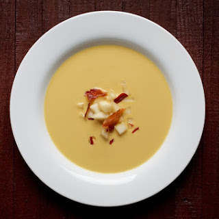 Celery Root and Pear Soup