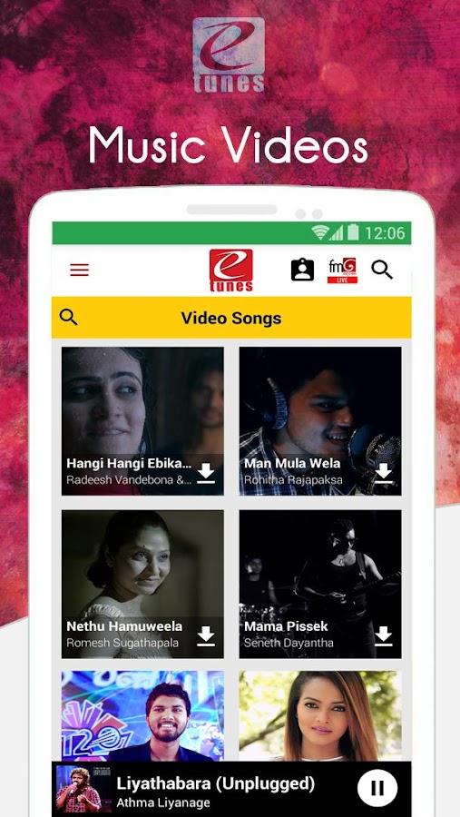 eTunes | Sri Lankan Music- screenshot
