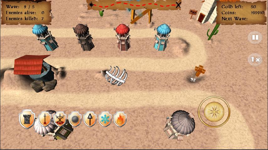 Wild West Tower Defense (Lite) APK 3