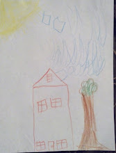 Photo: I asked Q to make a house for me and he did! :-) 2/24/12