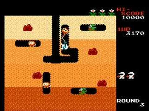 DIG DUG -  GAME 8 BITS - screenshot
