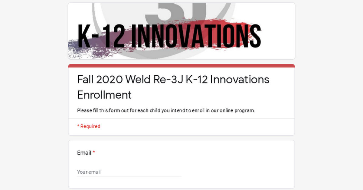 Fall 2020 Weld Re-3J K-12 Innovations Enrollment 4