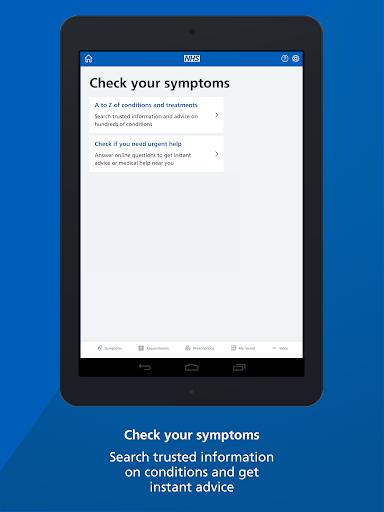 NHS App screenshot 8