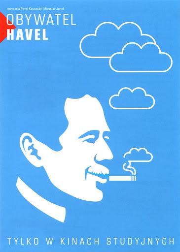 Przód ulotki filmu 'Obywatel Havel'