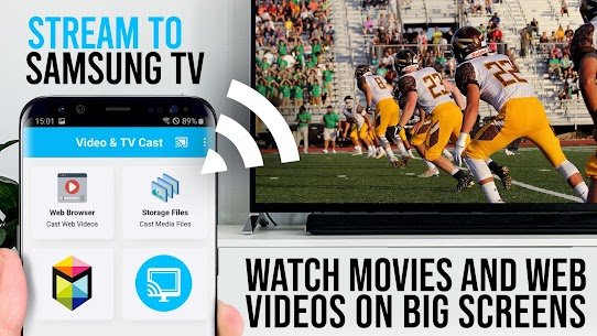 Video & TV Cast Pro Apk for Samsung TV   HD Streaming 1