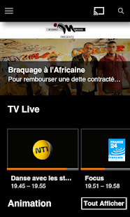 TV d'Orange Côte d'Ivoire – Vignette de la capture d'écran